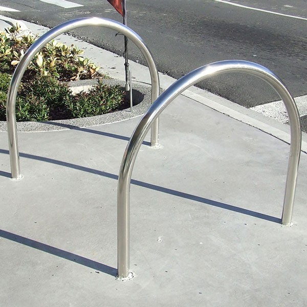 Large U Shape Bike Rack 800mm Wide Baseplate